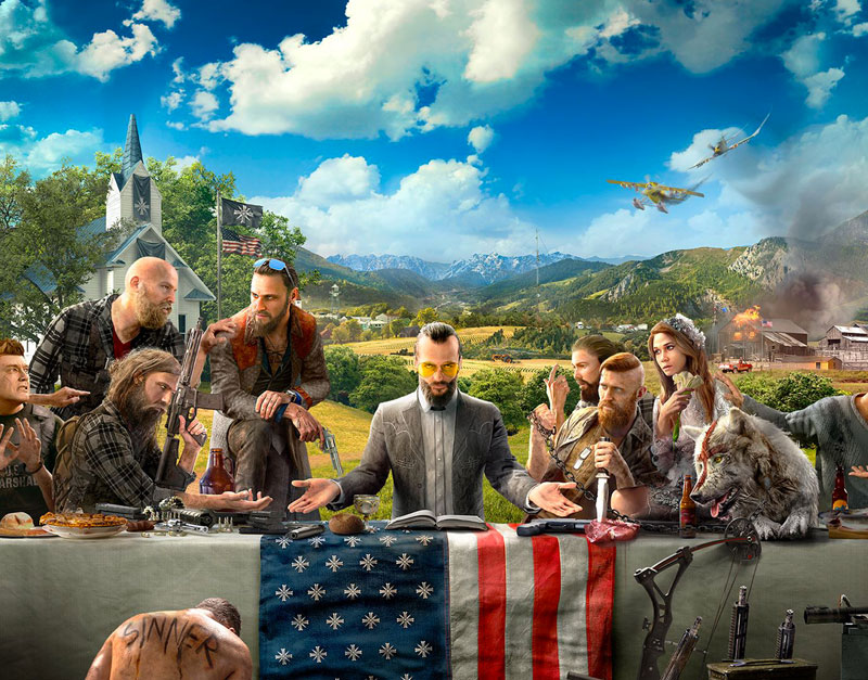 Far Cry 5 - Gold Edition (Xbox One), Bring It On Games, bringitongames.com