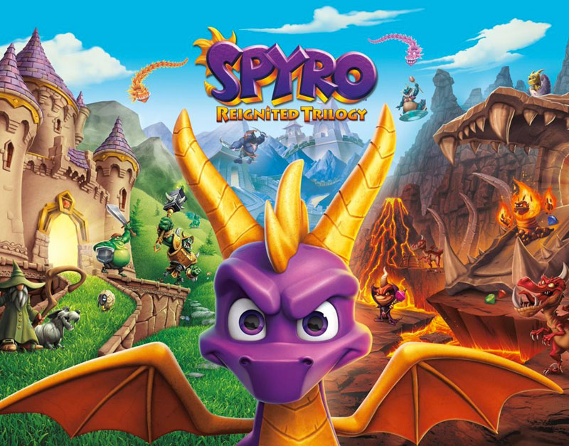 Spyro Reignited Trilogy (Xbox One), Bring It On Games, bringitongames.com