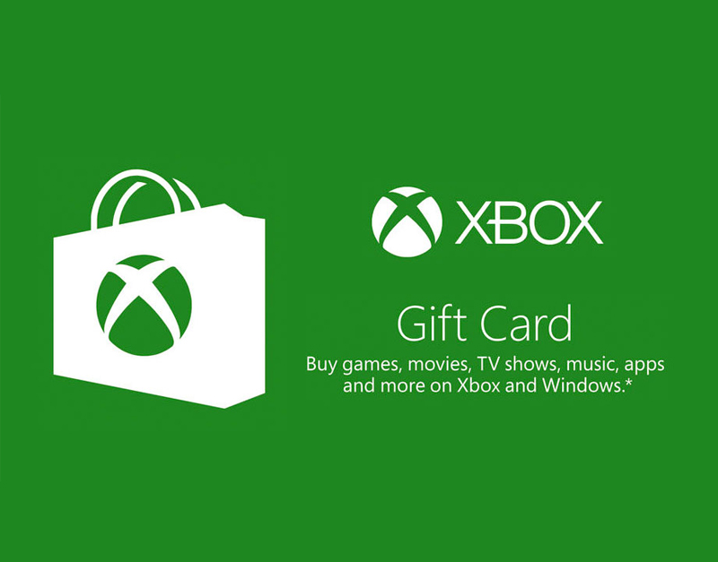 Xbox Live Gift Card, Bring It On Games, bringitongames.com
