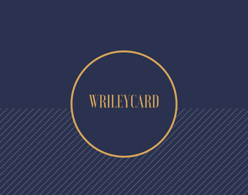 WrileyCard, Bring It On Games, bringitongames.com